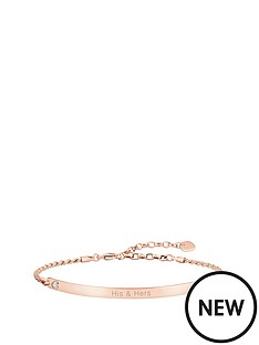 thomas-sabo-thomas-sabo-love-bridge-sterling-silver-rose-gold-plate-cubic-zirconia-heart-personalised-bracelet