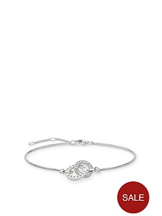 thomas-sabo-sterling-silver-logo-double-ring-bracelet