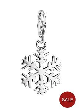 thomas-sabo-thomas-sabo-sterling-silver-snowflake-charm