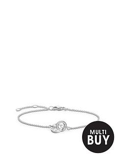 thomas-sabo-sterling-silver-diamond-set-together-forever-braceletnbspplus-free-diamond-bracelet