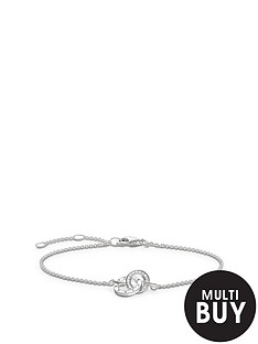 thomas-sabo-sterling-silver-diamond-set-together-forever-braceletnbspplus-free-karma-bead-bracelet
