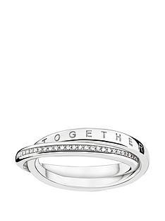 thomas-sabo-sterling-silver-diamond-set-together-forever-ringnbspadd-item-ktjq4-to-basket-to-receive-free-bracelet-with-purchase-for-limited-time-only