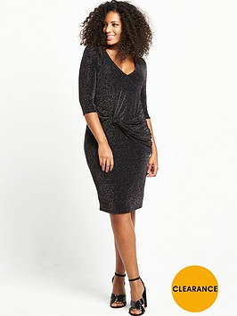 v-by-very-curve-curve-knot-front-metallic-dress