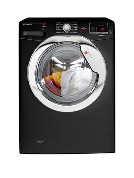 Hoover Dynamic Next One Touch Dxoc 68C3B 8Kg Load 1600 Spin Washing Machine  Black