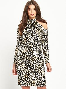 so-fabulous-curve-cold-shoulder-leopard-midi-dress