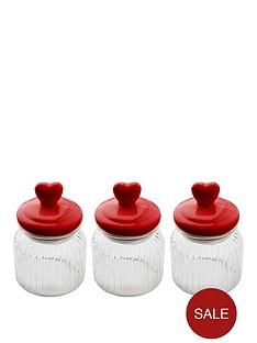 sabichi-heart-top-3-piece-glass-cannister-set