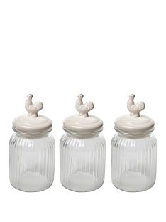 sabichi-chicken-top-3-piece-glass-cannister-set