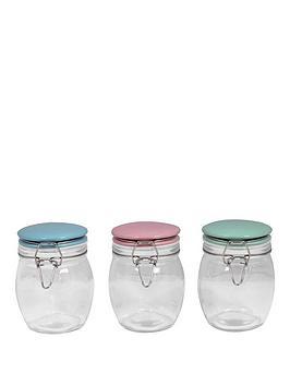sabichi-porelain-top-3-piece-glass-canister-set