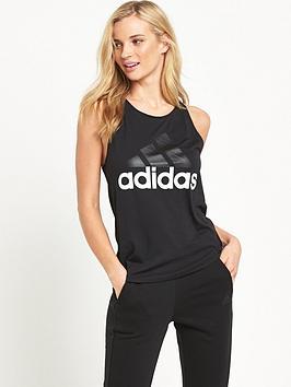 Adidas Essentials Linear Drop Hem Tank