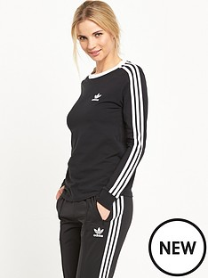 adidas-originals-3-stripes-long-sleeve-tee