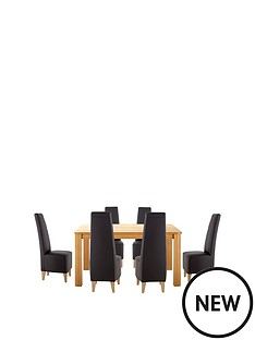 verona-150cm-dining-table-6-manhattan-chairs-buy-and-save