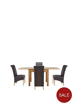 87-174-cm-square-to-rectangle-dining-table-4-sienna-chairs-buy-and-save