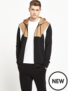 river-island-block-zip-through-hoody