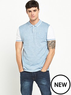 river-island-short-sleeve-blocked-polo-shirt