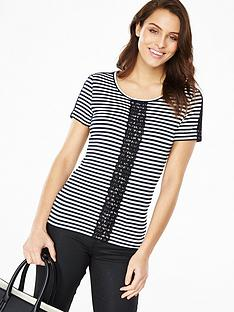 v-by-very-stripe-and-lace-tee