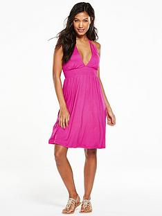 v-by-very-babydoll-jersey-halter-beach-dress