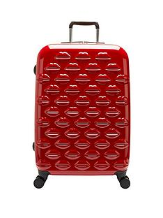 lulu-guinness-hard-sided-4-wheel-medium-case-red