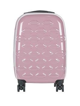 lulu-guinness-hard-sided-4-wheel-cabin-case-nude-rose