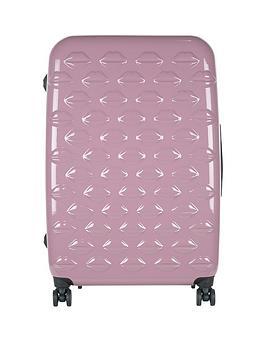 lulu-guinness-hard-sided-4-wheel-large-case-nude-rose