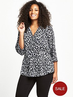 so-fabulous-curve-wrap-front-woven-blouse