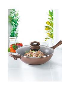 salter-bronze-marble-28cm-wok