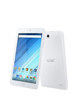 Acer Iconia One 8 (B1850) Quad Core Processor 1Gb Ram 16Gb Storage Android 8 Inch Hd Ips Tablet  White