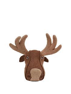 gisela-graham-moose-headnbspchristmas-decoration