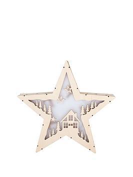 gisela-graham-wooden-led-star-ornament