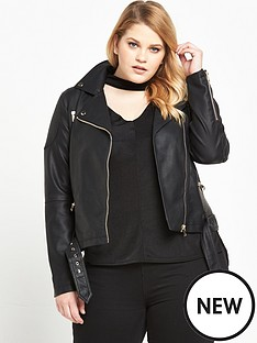 so-fabulous-double-buckle-pu-jacket-black