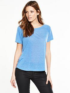v-by-very-essential-marl-slub-t-shirt