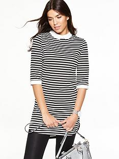 v-by-very-collared-ponte-tunic