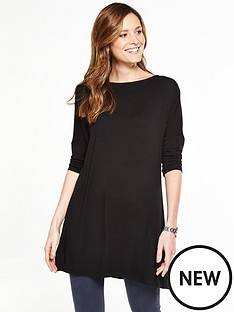 v-by-very-34-sleeve-easy-tunic