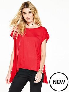 v-by-very-side-drape-t-shirtnbsp