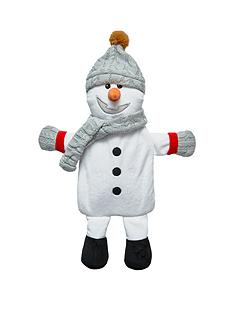 snowman-hot-water-bottle