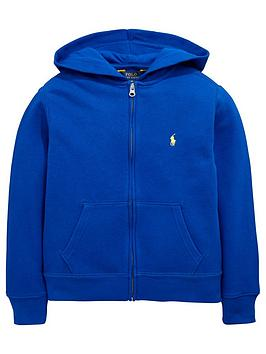 Ralph Lauren Boys French Terry Zip Through Hoodie