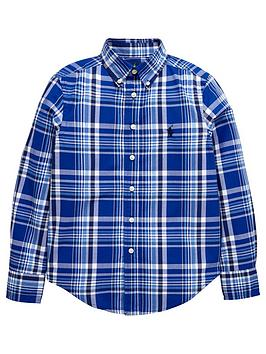 Ralph Lauren Boys Ls Check Shirt