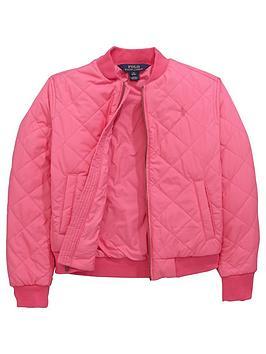 Ralph Lauren Girls Bomber Jacket
