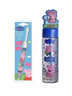 peppa-pig-bubble-blower-amp-flashing-toothbrush-set