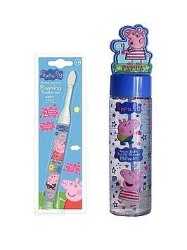 peppa-pig-bubble-blower-amp-flashing-toothbrush-set