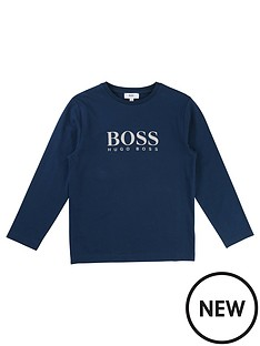 boss-boys-long-sleeve-logo-t-shirt