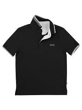 Boss Boss Boys Classic Polo Shirt - Black Picture