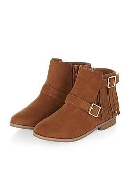 monsoon-girls-tassel-buckle-ankle-boot