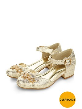 monsoon-girls-two-part-flower-metallic-heels