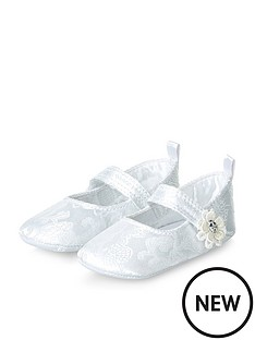 monsoon-baby-jacquard-lace-flower-bootie