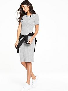 v-by-very-sport-trim-midi-dress
