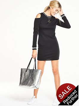 v-by-very-sporty-cold-shoulder-sweater-dress