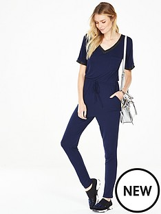 v-by-very-petite-rib-trim-jumpsuit