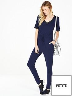 v-by-very-petite-rib-trim-jumpsuit