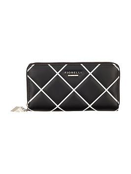 fiorelli-quilted-city-purse-black