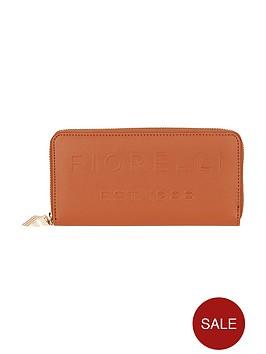 fiorelli-logo-zip-around-purse-tan
